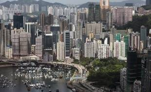 Une vue aérienne des grattes-ciel de Hong Kong, le 30 juillet 2019.