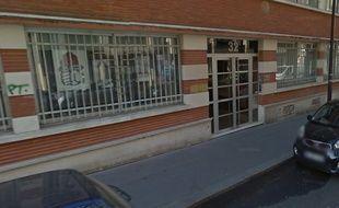 Le local du PS dans le 11e arrondissement de Paris