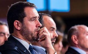 Christophe Castaner, au Conseil de La République en marche réuni à Lyon le 18 novembre 2017.