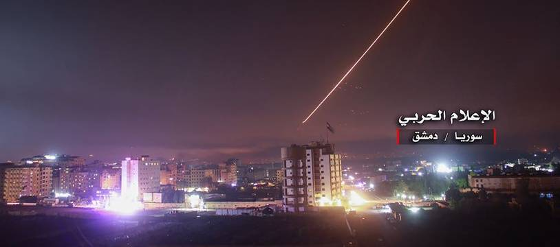 La défense anti-aérienne syrienne a pu intercepter la plupart des missiles israéliens avant qu'ils ne touchent leur cible le 25 décembre 2018 (illustration).