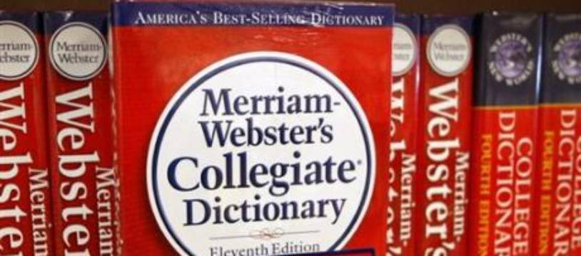 Un dictionnaire Merriam-Webster (illustration).