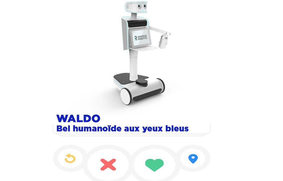 Waldo, robot humanoïde d'Immersive robotics – Montage 20 Minutes / Immersive Robotics