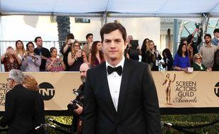 L'acteur Ashton Kutcher aux 23e Screen Actors Guild Awards