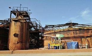 L'usine Rio Tinto fabrique de l'alumine à Gardanne depuis plus de 40 ans.