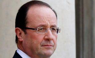 François Hollande, le 30 janvier 2013, au palais de l'Elysée, à Paris.