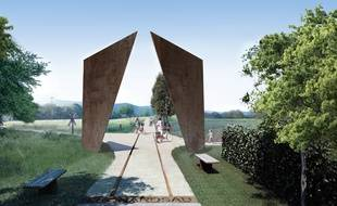 Porte sur la voie verte