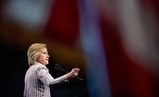 Hillary Clinton lors de la convention démocrate le 25 juillet 2016