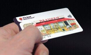 Image d'illustration d'une carte ticket restaurant.