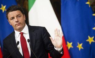 Le chef du gouvernement italien Matteo Renzi, le 28 novembre 2016 à Rome