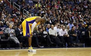 Kobe Bryant face aux Wizards de Washington, le 2 décembre 2014
