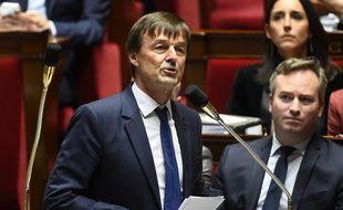 Nicolas Hulot à l'Assemblée nationale le 10 octobre 2017.