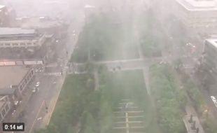 Une tempête s'est abattue sur la ville de Kansas City (Missouri)