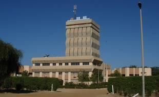 L'université Gaston Berger (UGB) de Saint-Louis, au Sénégal.