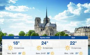 Météo Paris: Prévisions du jeudi 29 juillet 2021