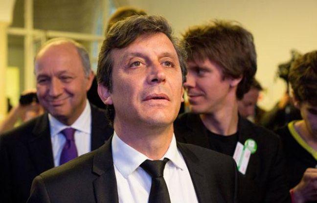 Le sénateur de Paris David Assouline à Paris le 10 juin 2012.