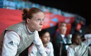 Astrid Guyart fait partie des signataires de la tribune des athlètes appelant à briser le silence sur les cas de violences sexuelles dans le sport.
