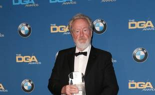 Le réalisateur Ridley Scott aux 69e Director Guild Awards