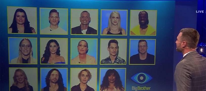 Les candidats de l'émission de téléréalité allemande « Big Brother».