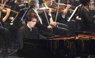Le pianiste Alexandre Kantorow lors de la 26e cérémonie des Victoires de la Musique Classique 2019