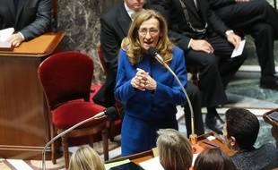 La ministre de la justice Nicole Belloubet le 24 janvier ,2018.