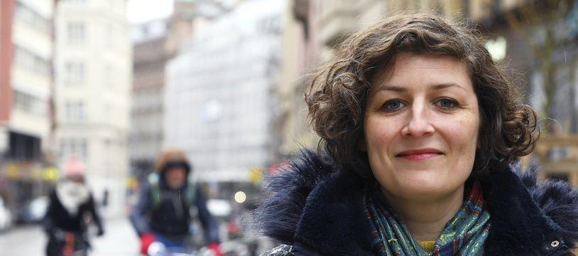 La candidate écolo Jeanne Barseghian arrive en tête du premier tour de ces municipales à Strasbourg.