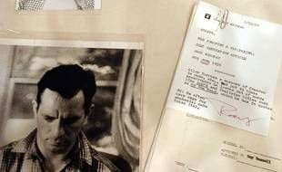 Un manuscrit original de Jack Kerouac avait été vend à New York en 2003.