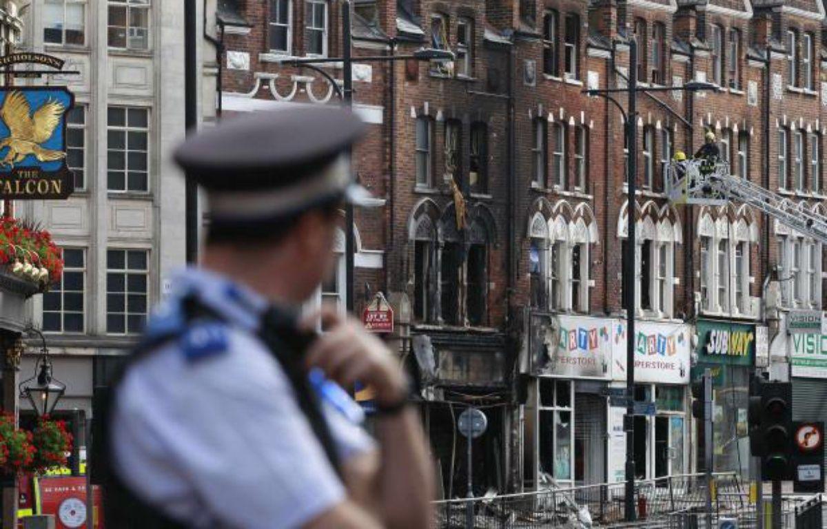 Le quartier de Clapham Junction à Londres a subi des dégradations – REUTERS/Stefan Wermuth