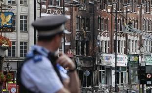 Le quartier de Clapham Junction à Londres a subi des dégradations