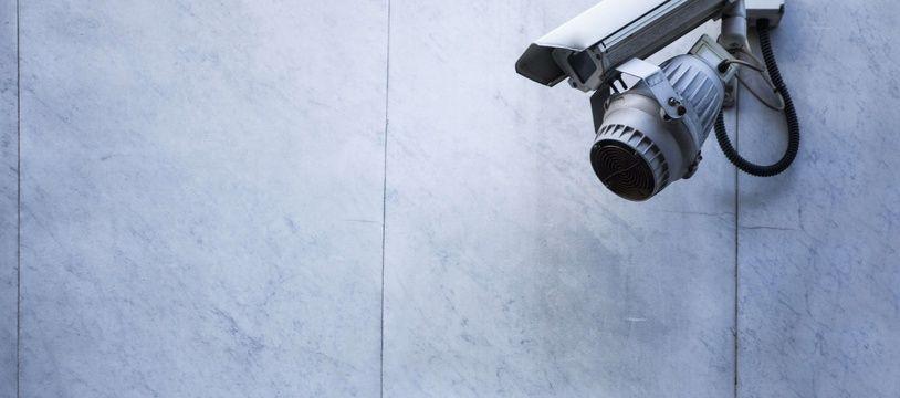 Une caméra de surveillance. (Illustration)