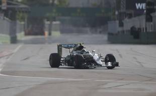 Nico Rosberg au Grand Prix d'Europe le 19 juin 2016.