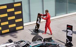 Sebastian Vettel, après le GP du Canada.
