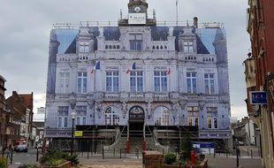 L'hôtel de ville d'Hénin-Beaumont, dans le Pas-de-Calais.