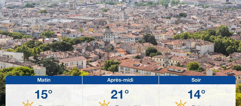 Météo Nîmes: Prévisions du lundi 25 octobre 2021