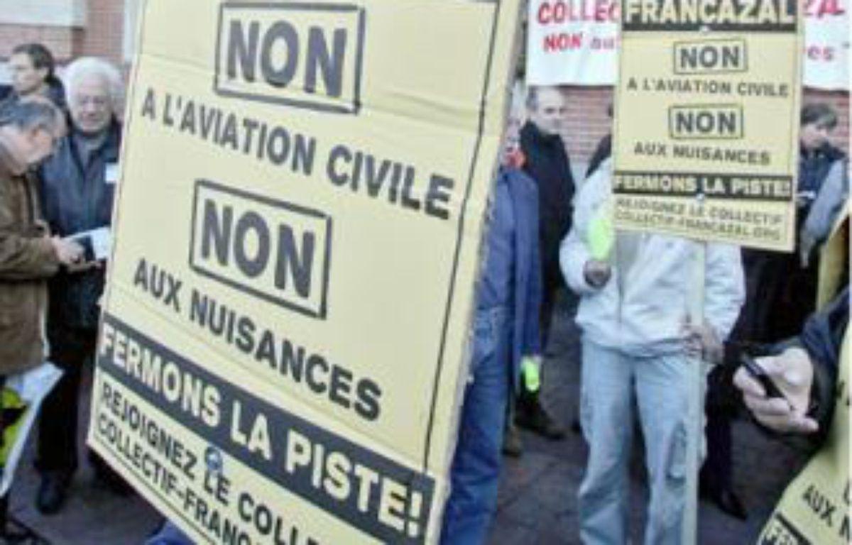 Le collectif Francazal dénonce le manque de concertation de l'Etat avec les riverains. –  f . scheiber / 20 minutes