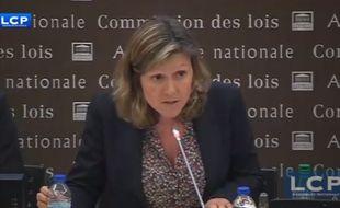 La présidente de la commission des Lois Yaël Braun-Pivet.