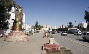 La ville de Sidi Bouzid.