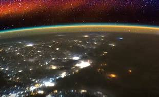 La Terre filmée depuis l'ISS.