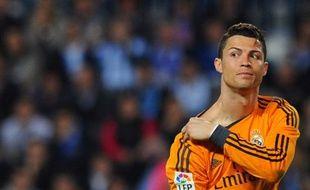 L'attaquant du Real Madrid Cristiano Ronaldo, le 15 mars 2014, à Malaga.