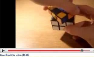Téléchargement payant sur YouTube (lien en bas à gauche)