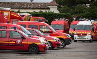 Des véhicules de pompiers (illustration).