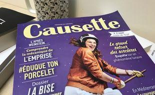 Une couverture du mensuel féminin «Causette».
