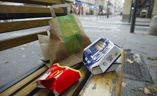 A Strasbourg, McDonald's participera au ramassage des déchets (Illustration)