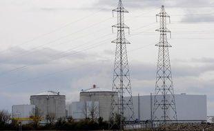 La centrale nucléaire de Fessenheim en 2008.