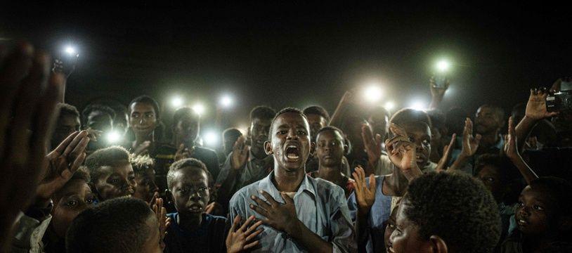 Le photographe de l'AFP, Yasuyoshi Chiba, a remporté le World Press Photo 2020 avec ce cliché pris le 19 juin 2019 à Khartoum.