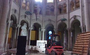 La destruction de la chapelle Saint-Joseph a débuté