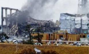 La centrale de Fukushima, lundi.