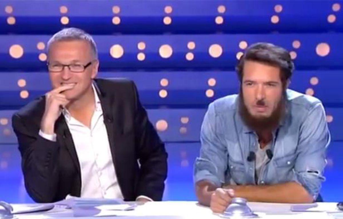 La chronique de Nicolas Bedos sur la polémique Dieudonné dans «On n'est pas couché» sur France 2, le 11 janvier 2014. – CAPTURE D'ECRAN/20MINUTES.FR