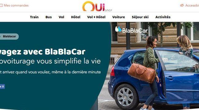 BlaBlaCar: Les offres de covoiturage désormais intégrées sur le site de la SNCF