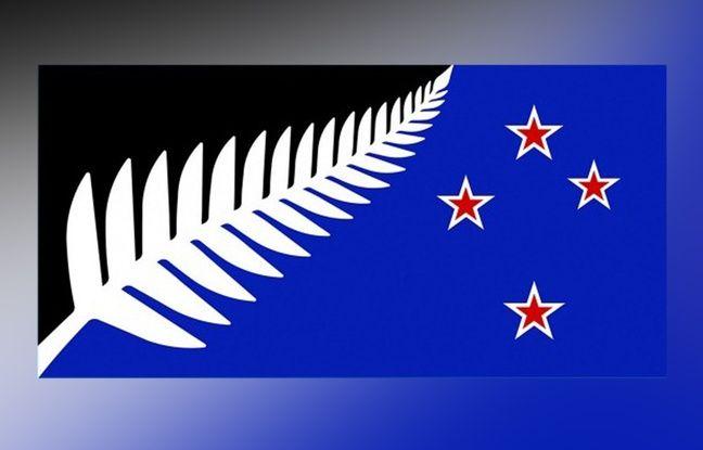 Le peut-être futur drapeau de la Nouvelle-Zélande.