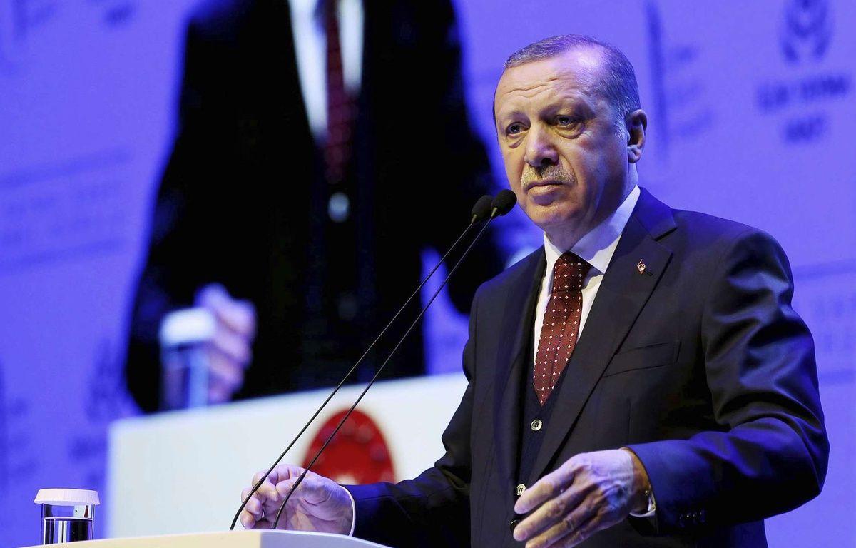 Erdogan veut venir en meeting à Strasbourg? Le maire y est hostile – Yasin Bulbul/AP/SIPA